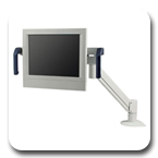 "Innovative 7516 Deluxe Flexible (27"") Healthcare LCD Arm with Convenient Handles"