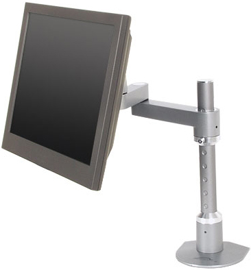 "Innovative 9114-S-12 Euro Series Articulating LCD Arm Mount with 12"" Pole"