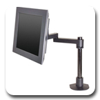 "Innovative 9112-S-14 Articulating LCD Mount with14"" Pole"
