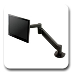 Innovative LCD Arm 7500-Hydro Notebook or Laptop Arm - 27 inch Reach