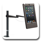 Innovative 5800-8438 EVO Pole Arm with Secure iPad Holder