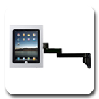 Innovative 9110-8424 Secure iPad Wall Mount Arm