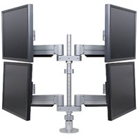 "Innovative 9198-4 Quadropod LCD Mount, Four Monitors (28"" Pole)"