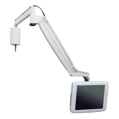 Innovative 9450 Long Reach Point of Care Wall Mount Monitor Arm
