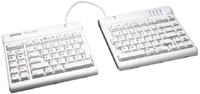 Kinesis KB700MW-us Freestyle Solo Keyboard provides total separation of both keyboard modules