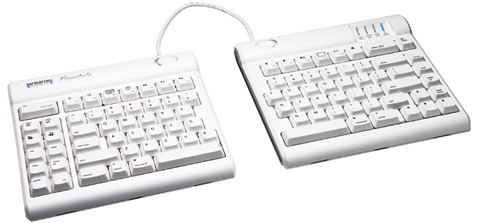 Kinesis KB700MW-us Freestyle Solo Keyboard for Mac White (8 inch separation)