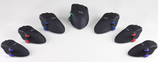 Contour Design PMO Ergonomic Mouse Perfit Optical With Scroll Wheel black