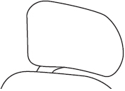 Height only Headrest with Memory Foam - H2