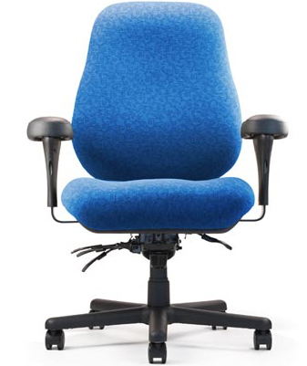 Neutral Posture BTC16800 or BTC16900 Big and Tall Jr. Multi Function Ergonomic Task Office Chair