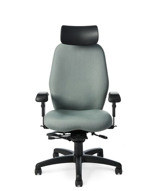 Office Master 7897 Paramount Extra Tall Back Multi Function Chair With  Headrest