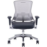 Office Master OM5-G Palladium Grey Frame Intensive Use Multi Tasking Office Chair Executive Seating