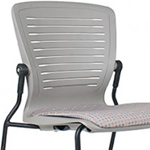 OM5 ED-GL2-SD Stacking Guest Chair without Arms