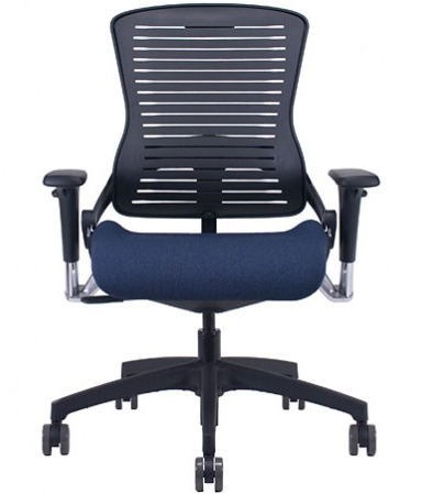 Office Master OM5-B Modern Black Multi Tasking Executive Seating