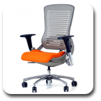 Office Master OM5-B Black Frame or OM5-G Grey Frame Intensive Use Multi Tasking Office Chair Executive Seating