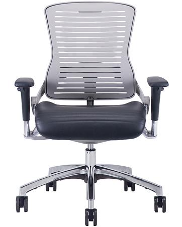 Office Master OM5-G Palladium Grey Multi Tasking Executive Chair