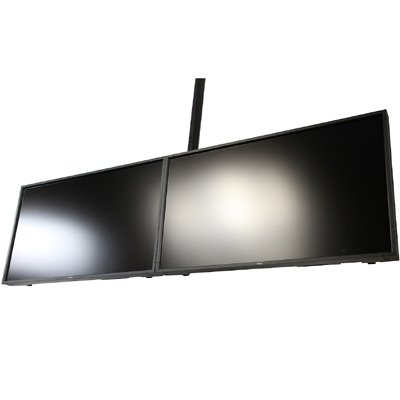 Peerless Dst940 Dual Display Ceiling Mount System For 37