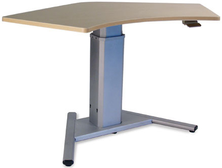 SIS Move Spring 120º V-Base Height Adjustable Desk and Ergonomic Table