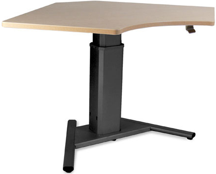 SIS Move Spring 90° V-Base Height Adjustable Desk and Ergonomic Table
