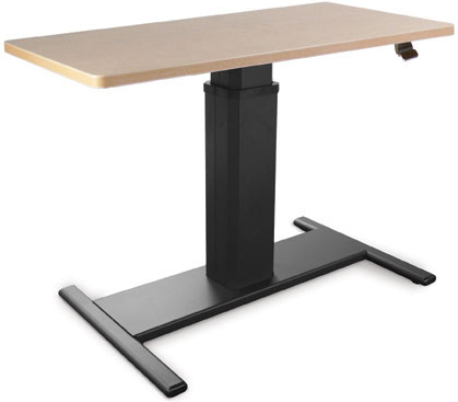 SIS Move Spring Rectangle Height Adjustable Single Surface Ergonomic Table