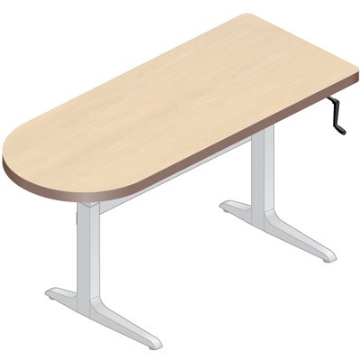 Desks Tables on Legs Left Or Right  22 34   Height Adjustable Tables   Desks
