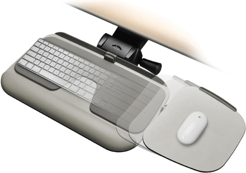 Workrite UC3100 Glide 2 Single/Dual Mouse Keyboard Tray UG3100