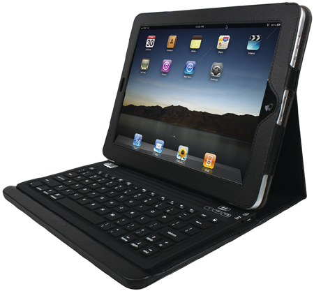Adesso WKB-2000CB Compagno Bluetooth Keyboard with Carrying Case for iPad