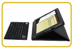 Detachable Bluetooth Silicon Keyboard is Wireless, Waterproof, Silent and Fast