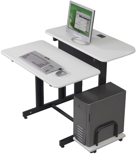 Balt 83681 Single Split Level 36 Training Desk and Workstation
