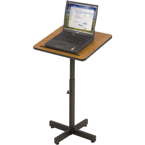 Balt 85751 T-Lect Presentation Stand - Height Adjustable Desk and Cart