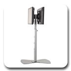 Chief MF2UB Flat Panel Dual Display Floor Stand MF2US