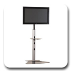 Chief PF1UB Flat Panel Floor Stand up to 65 inch PF1US