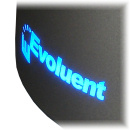 Lighted Evoluent Logo