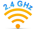 Logitech Advanced 2.4 GHz wireless connectivity
