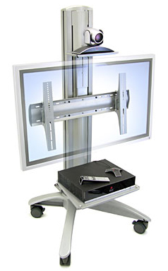 Ergotron 24-183-194 LX Video Conferencing Cart