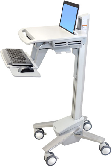 Ergotron SV40-40001 StyleView EMR Notebook Computer Cart for Mobile Medical Applications