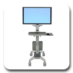 Ergotron 24-189-055 Neo-Flex WideView Workspace Cart 24189055