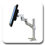 Ergotron 45-235-194 Neo-Flex Extend LCD Desk Mount Arm
