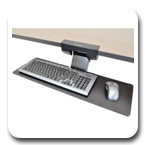 Ergotron 97-582-009 Neo-Flex Underdesk Keyboard Arm Black