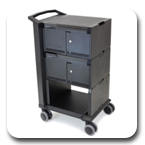 Ergotron 24-328-085 Tablet Management 32 Device Capacity Cart, Two Modules with Individual Status Indicators