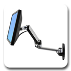 Ergotron 45-243-026 LX Wall Mount LCD Monitor Arm