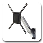 Ergotron 45-296-026 Interactive TV Wall Mount Display Arm, HD (Polished Aluminum)