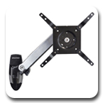 Ergotron 45-299-026 Interactive TV Wall Mount Display Arm, LD (Polished Aluminum)