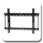 "Ergotron 60-614 Neo-Flex Fixed Wall Mount UHD Ultra Heavy Duty for 37"" to 63"" Flat Panel Black"