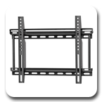 "Ergotron 60-615 Neo-Flex Fixed Wall Mount VHD Very Heavy Duty for 23"" to 42"" Flat Panel Black"