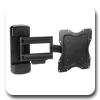 "Ergotron 60-618 Neo-Flex Cantilever Wall Mount VHD Very Heavy Duty for 23"" to 42"" Flat Panel Black"