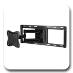 "Ergotron 60-619 Neo-Flex Cantilever Wall Mount UHD Ultra Heavy Duty for 37"" to 52"" Flat Panel Black"