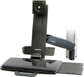 Ergotron 45-215-200 StyleView HD Combo Black
