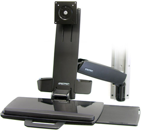 Ergotron 45-216-200 StyleView HD Combo System Black
