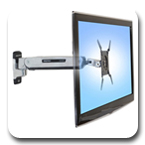 Ergotron 45-361-026 Interactive TV Light Duty Arm