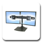Ergotron DS100 Dual-Monitor Mount 33-322-200
